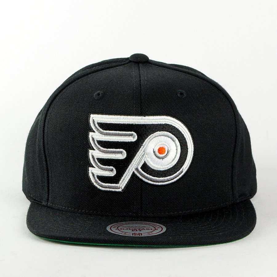 online retailer 11846 f0876 ... spain mitchell and ness snapback wool solid philadelphia flyers black  click to zoom 385cd c13f0
