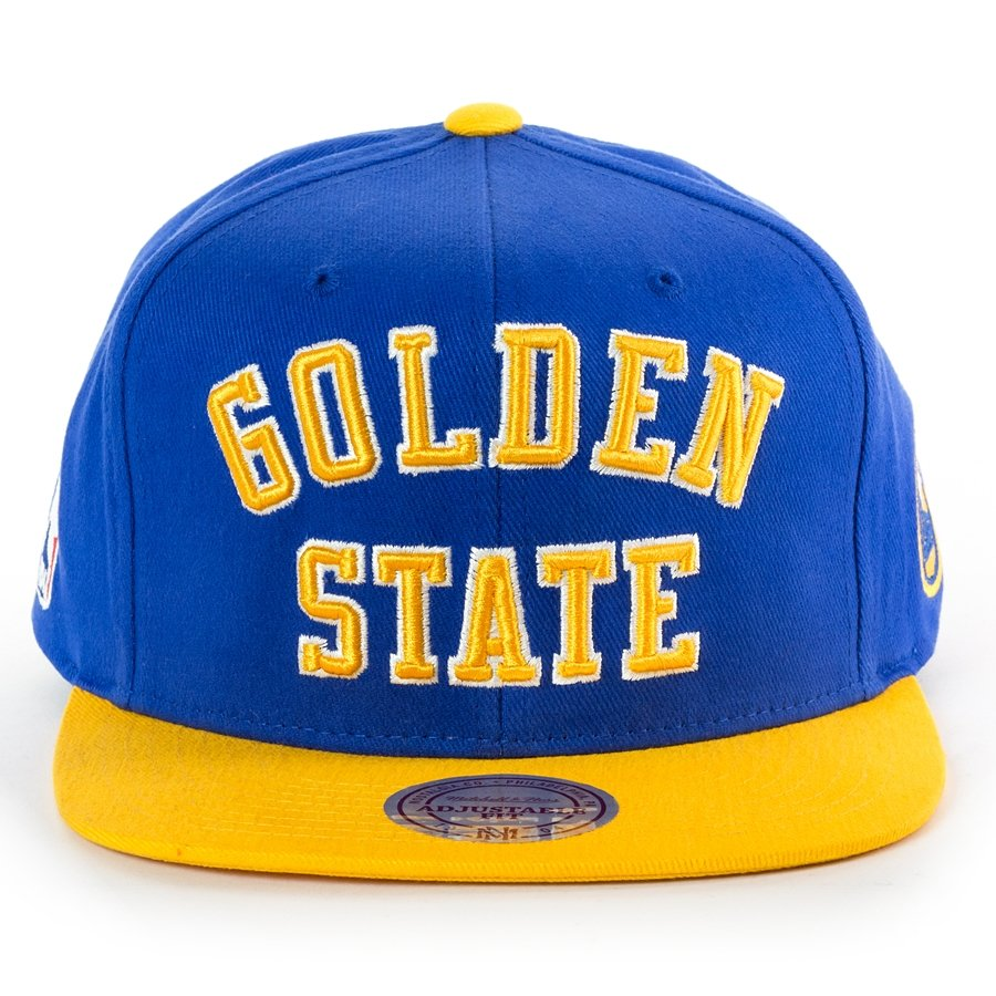 Click to zoom · Mitchell and Ness snapback Wordmark Jersey Hook Golden  State Warriors blue Click ... 48d401f99ba