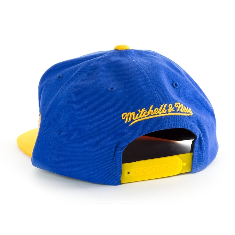 ... Mitchell and Ness snapback Wordmark Jersey Hook Golden State Warriors  blue Click to zoom cb79d4d99ed