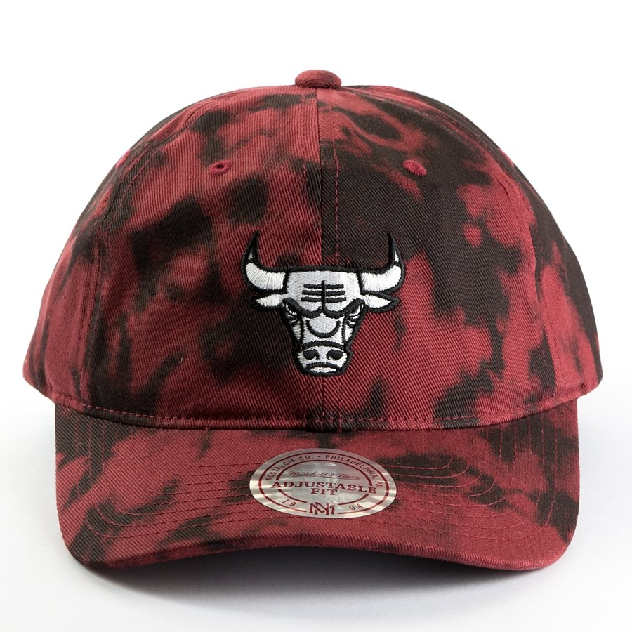 d5175101d0b Mitchell and Ness strapback Multi Colour Acid Wash Dad Hat Chicago ...