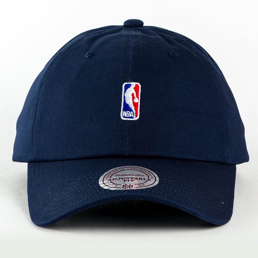 Mitchell and Ness strapback NBA Logo Low Pro navy Navy  68b81412410