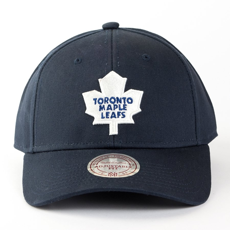 00f2919dd12 Mitchell and Ness strapback Team Logo Low Pro Toronto Maple Leafs ...