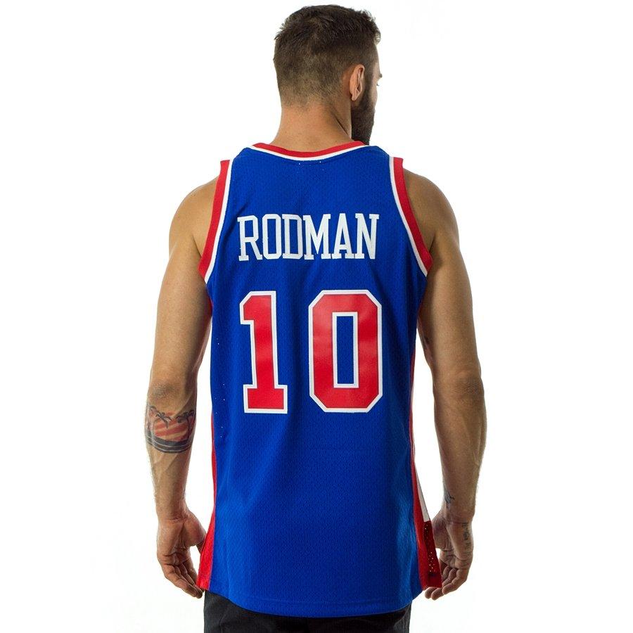 3493ac8da6d ... where can i buy mitchell and ness swingman jersey detroit pistons  dennis rodman 1988 89 royal