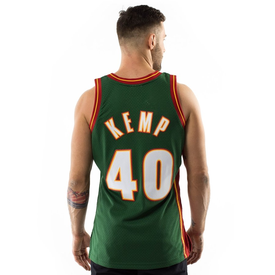c2781d72e Click to zoom  Mitchell and Ness swingman jersey Seatlle SuperSonics Shawn  Kemp 1995-96 ...