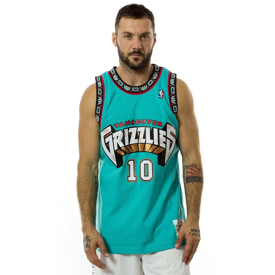 d807a221 Mitchell and Ness swingman jersey Vancouver Grizzlies Mike Bibby 1998-99  teal Click to zoom ...