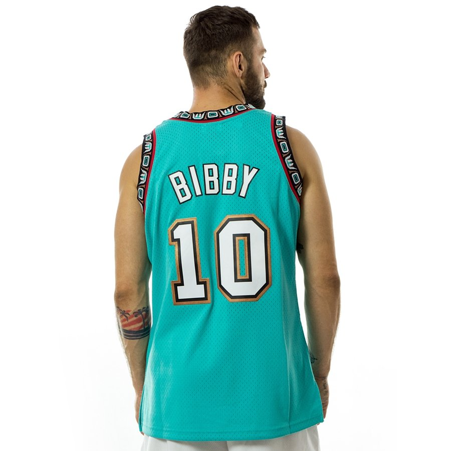 07f67155 Click to zoom; Mitchell and Ness swingman jersey Vancouver Grizzlies Mike  Bibby 1998-99 teal Click to zoom ...