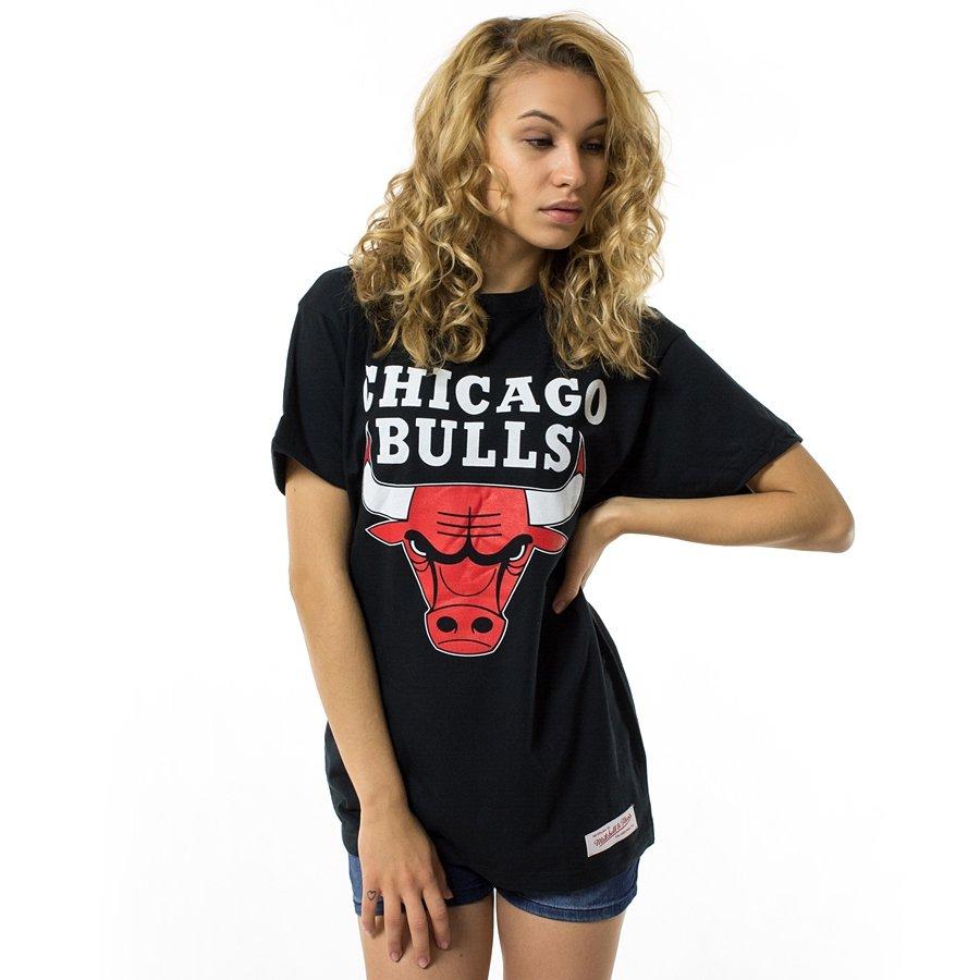 Mitchell and Ness t-shirt WMNS Team Logo Traditional Chicago Bulls ... a2d7d01eba