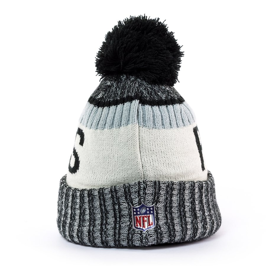 dbc84579 New Era Sport Knit NFL Oakland Raiders grey