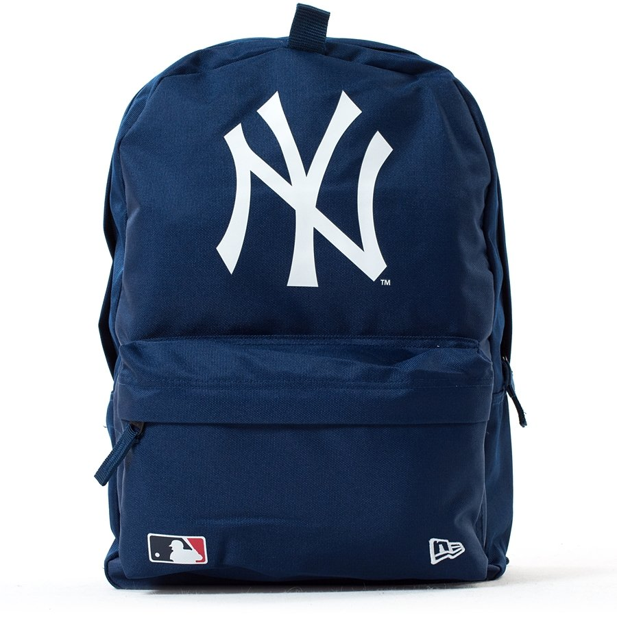 new era backpack mlb stadium pack new york yankees navy. Black Bedroom Furniture Sets. Home Design Ideas