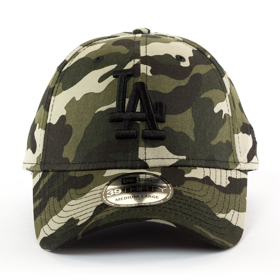 New Era cap MLB Los Angeles Dodgers League Essential 39THIRTY camo Click to  zoom ... 29f8580bd