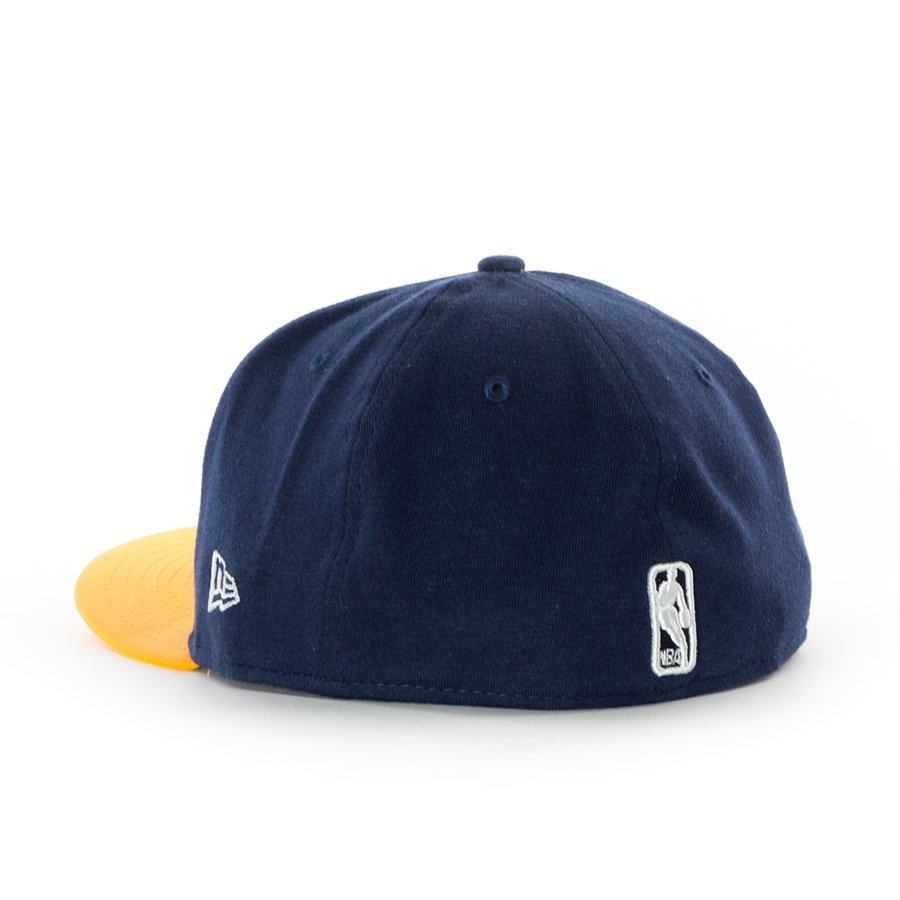 official photos 03106 bad54 ... New Era fitted cap 59FIFTY Indiana Pacers navy   yellow Click to zoom  ...