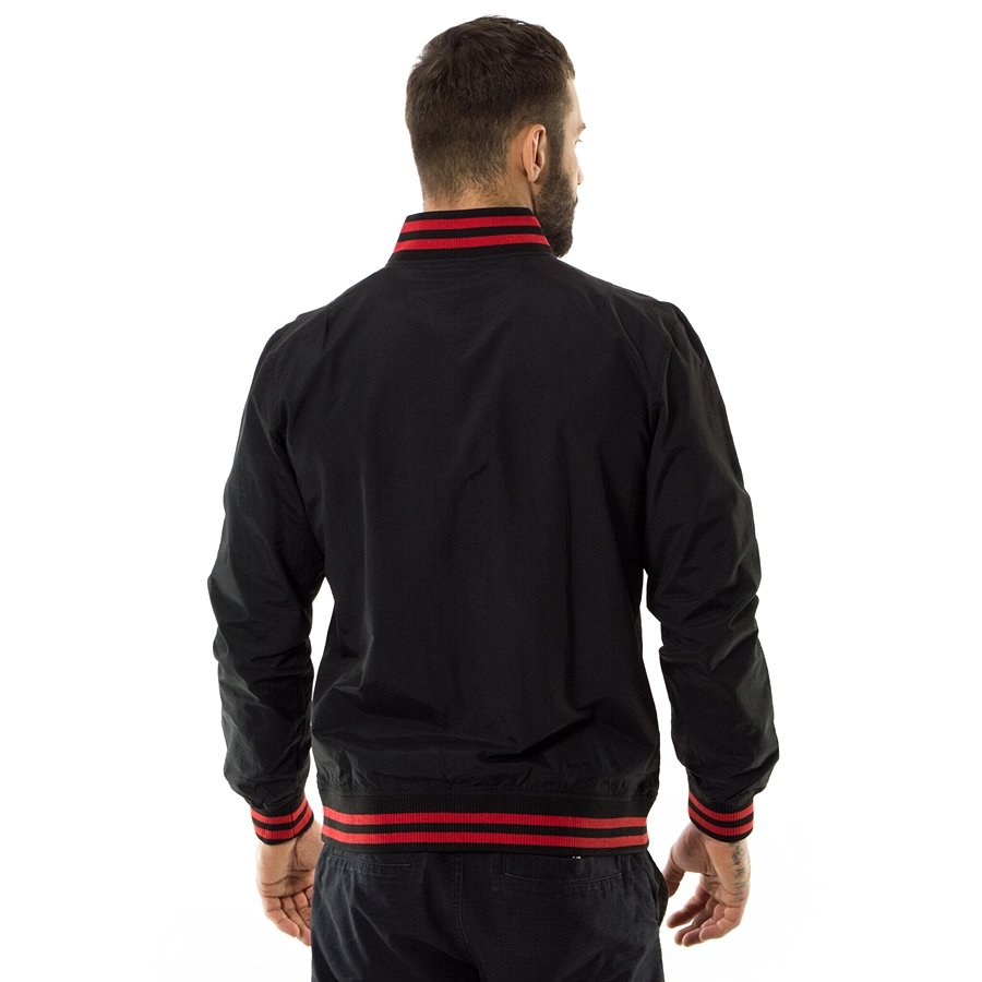 c7f5c27e New Era jacket NBA Team Pop Logo Varsity Chicago Bulls black