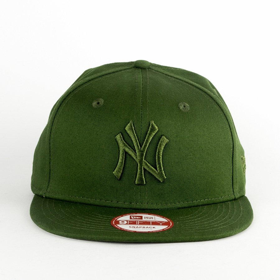 109d7bba8bf New Era snapback League Essential New York Yankees green 9FIFTY Click to  zoom ...