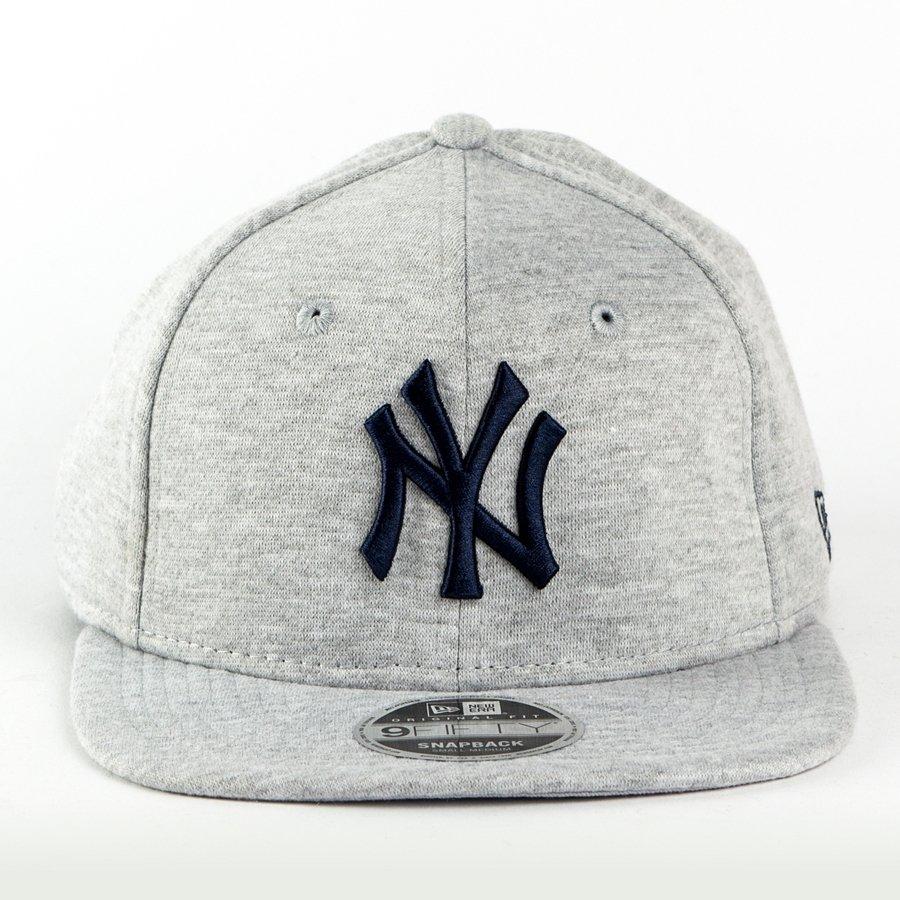 c8e6e187bd0 New Era snapback League Essential New York Yankees grey heather 9FIFTY  Click to zoom ...