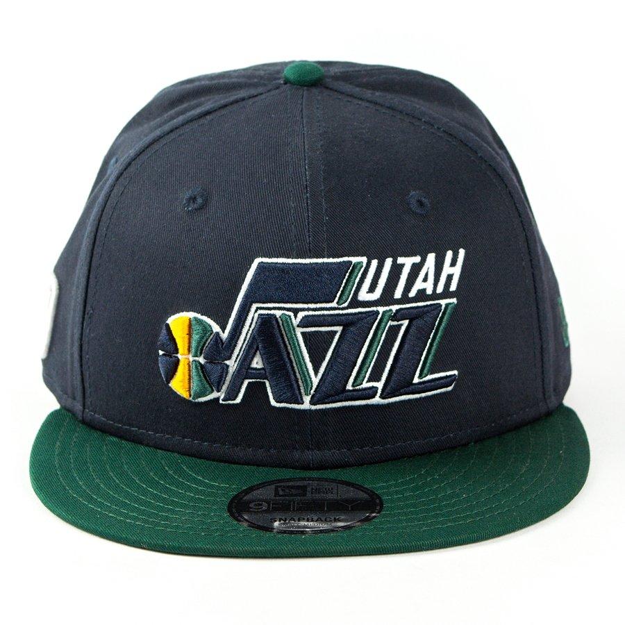 b308a405551 New Era snapback Utah Jazz NBA Team 9fifty navy   green Click to zoom ...
