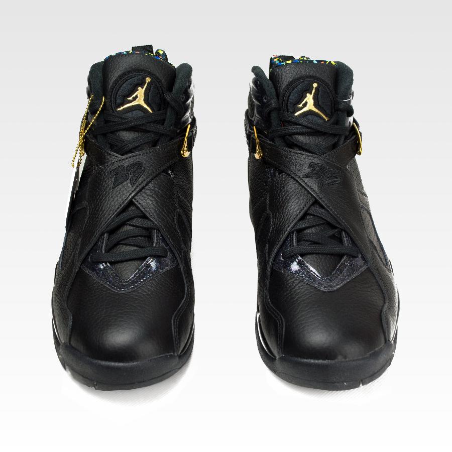 0acc7819da0 Click to zoom · Nike Air Jordan VIII Retro Confetti black   metallic gold -  anthracite (832821-004