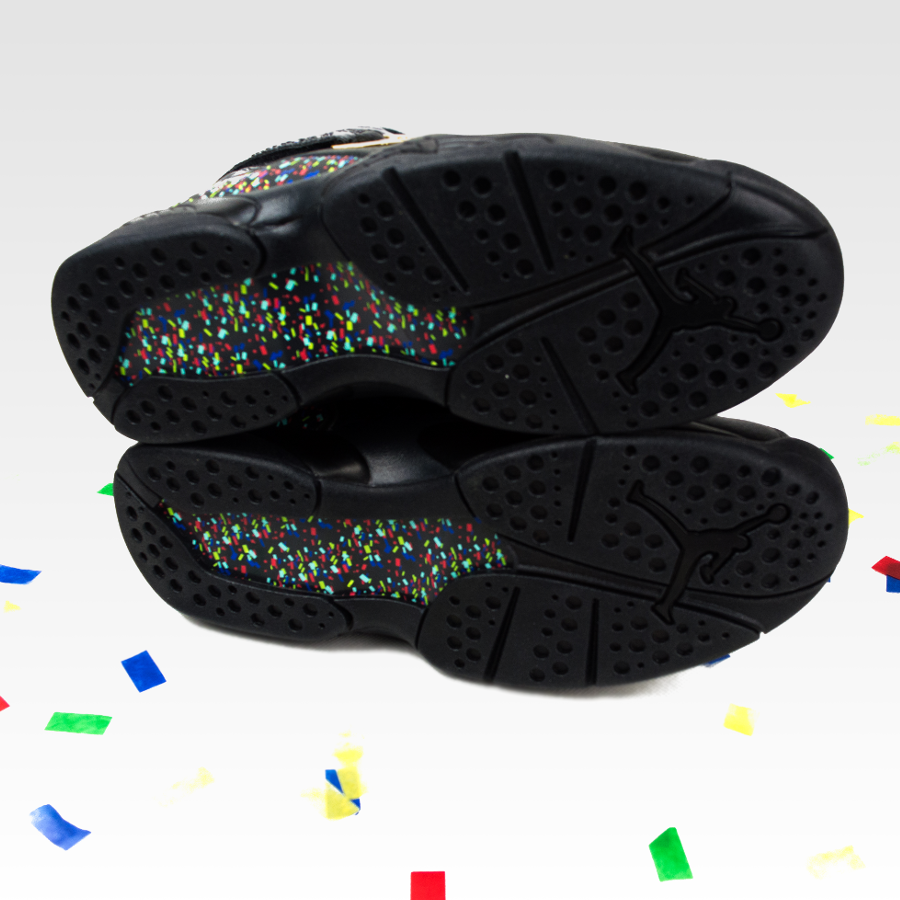 san francisco 82769 18936 Click to zoom · Nike Air Jordan VIII Retro Confetti black   metallic gold -  anthracite (832821-004