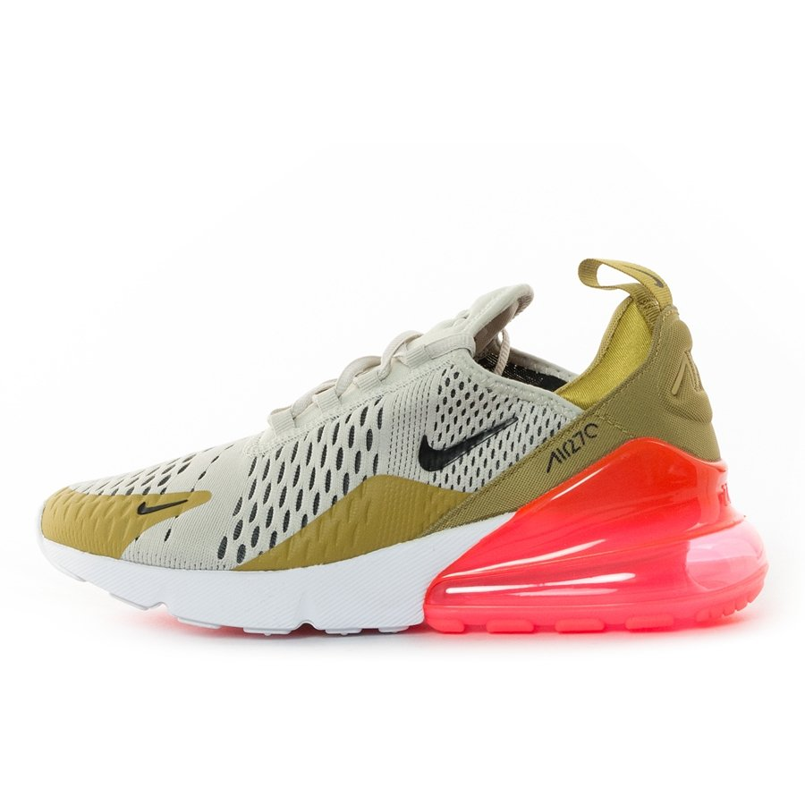 Nike Air Max 270 gold black light bone white (AH6789 700)