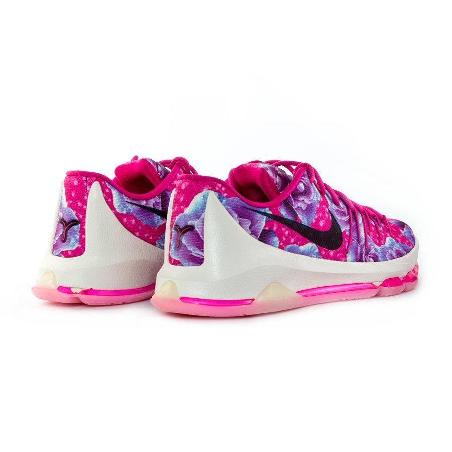 buy popular ca922 67dfa ... Nike KD 8 PRM Kevin Durant Aunt Pearl Cancer Vivid Pink Black-Phantom (  Click to zoom ...