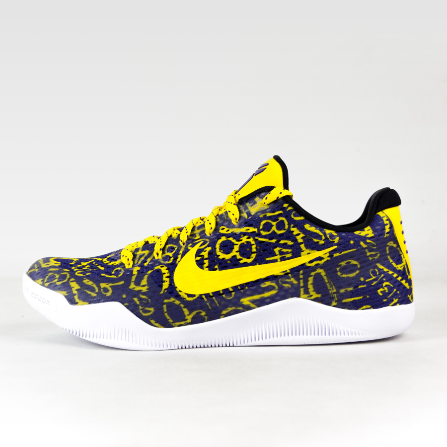 ba036b7188a Nike Kobe XI Mamba Day ID purple   yellow   white Click to zoom ...