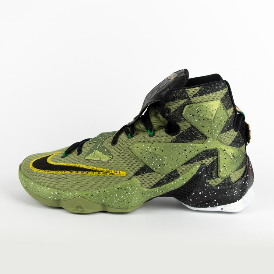 new styles de3a9 e7390 Nike Lebron XIII All-Star Alligator   Black Multicolor (835659-309) Click  to zoom ...