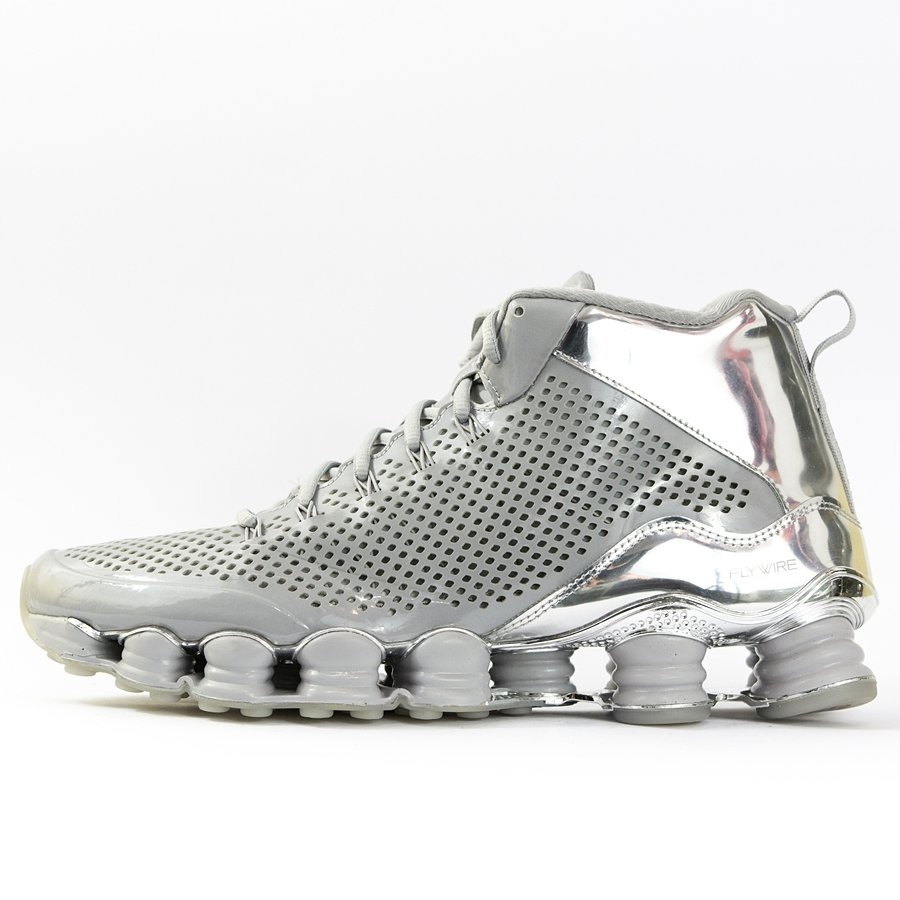 finest selection cb859 9f4b6 Nike Shox TLX Mid SP silver / reflect silver-chrome (677737-003)