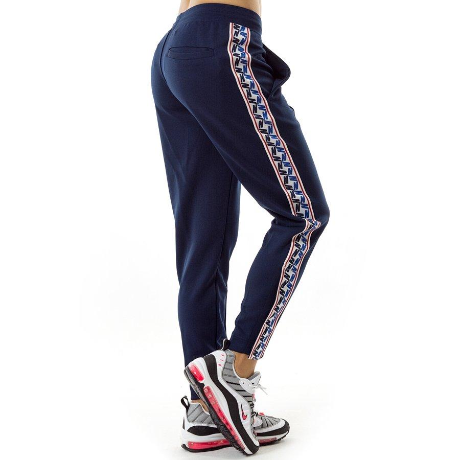 4d7fec7723 Nike sweatpants Taped Poly Pants navy (AJ2297-451)