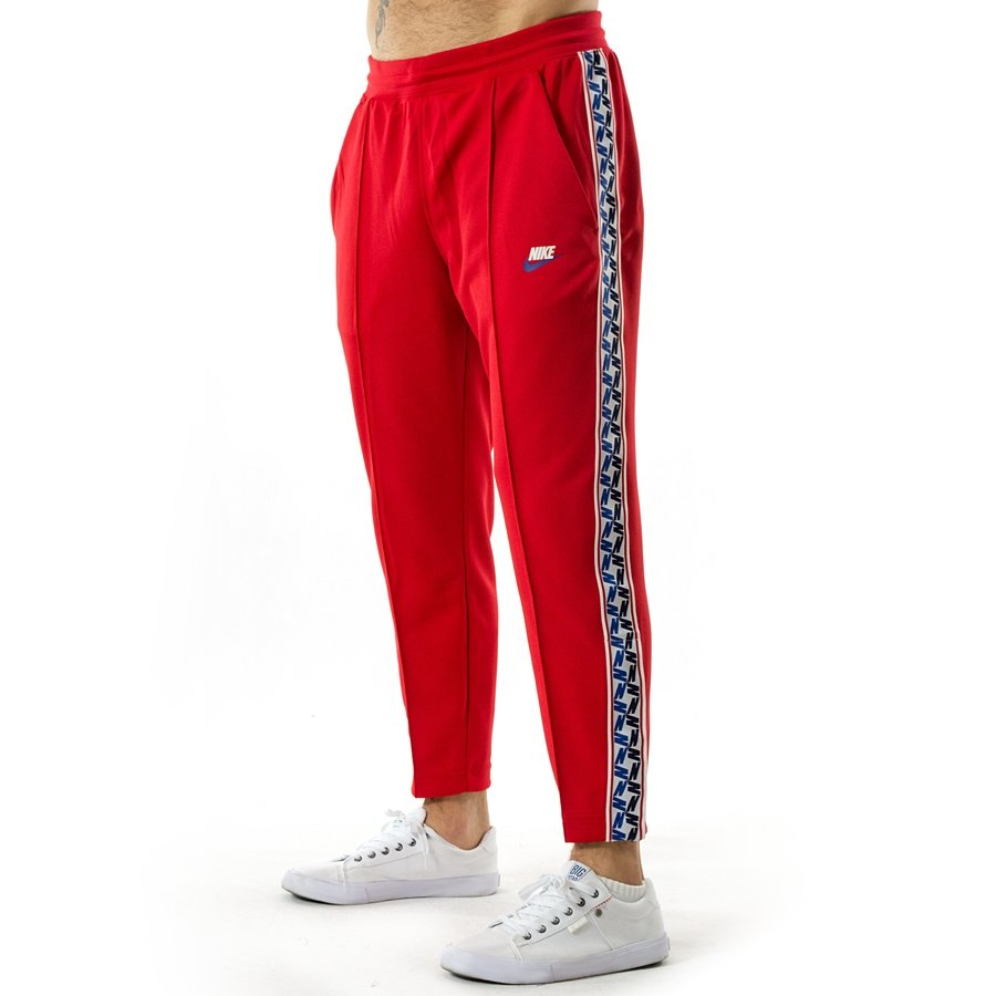 Nike sweatpants Taped Poly Pants red