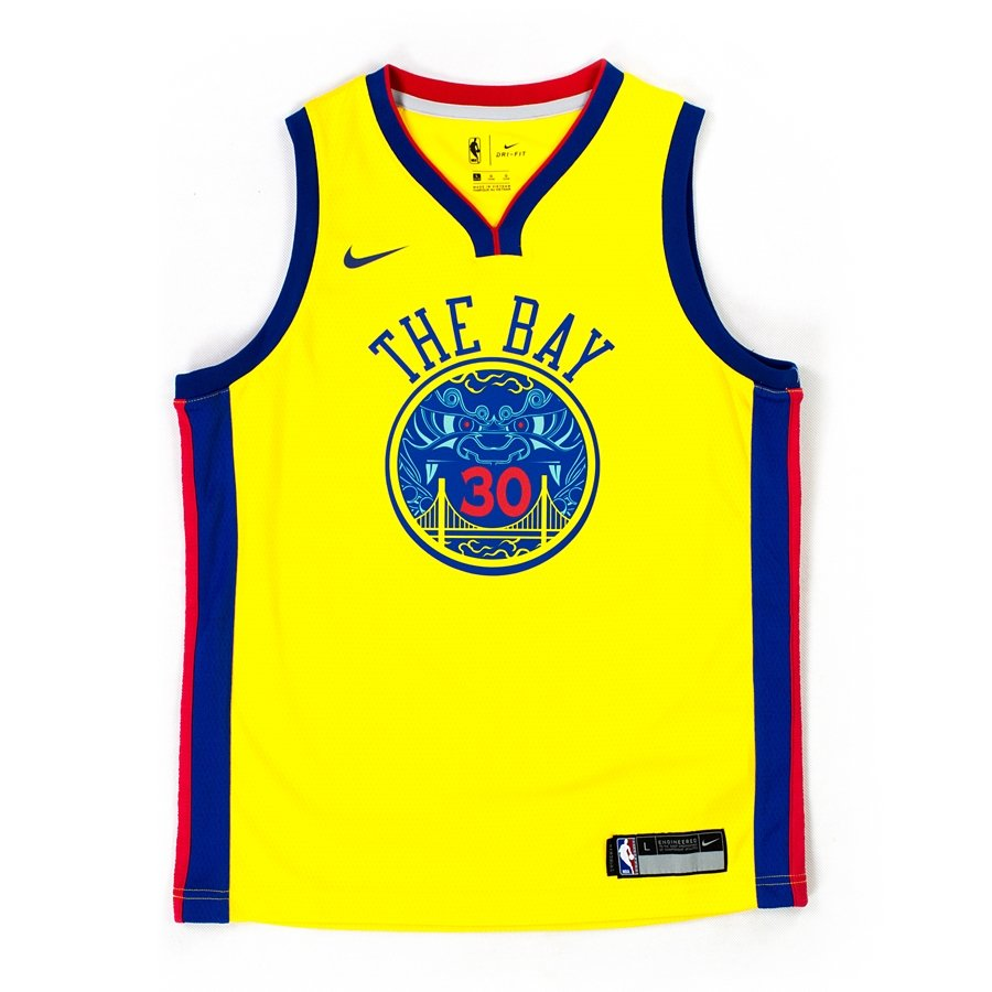 best service 2774e a1ff7 Nike swingman jersey City Edition ES Golden State Warriors Stephen Curry  amarillo (EZ2B7BY1P-WARSC)