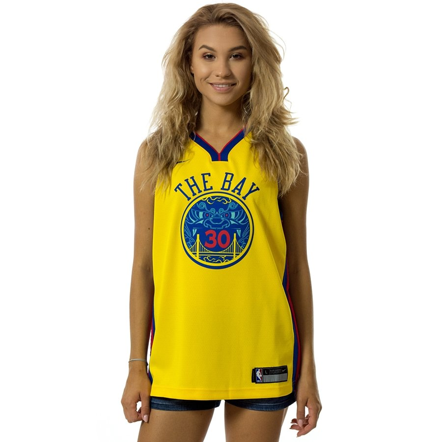 03f2f912a Click to zoom · Nike swingman jersey WMNS City Edition ES Golden State  Warriors Stephen Curry amarillo (EZ2B7BY1P-