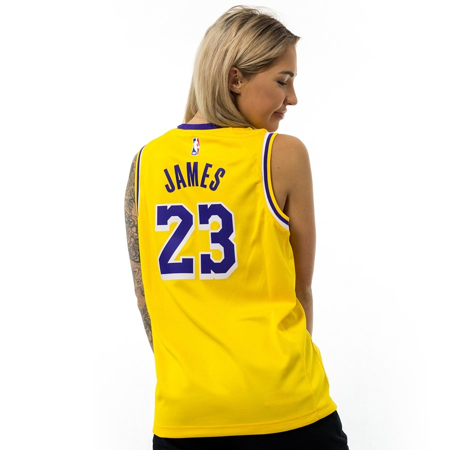 Nike Men's LeBron James Los Angeles Lakers Icon Player T