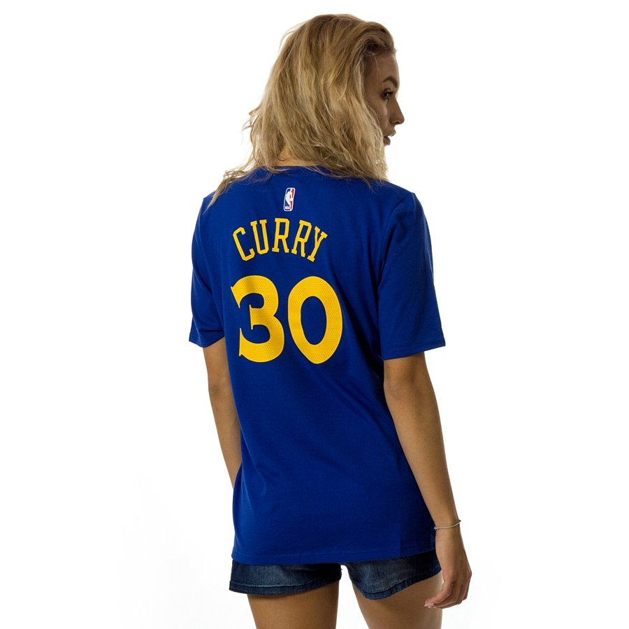 e789ea729fce4c Nike t-shirt WMNS Icon Name   Number Golden State Warriors Steph ...