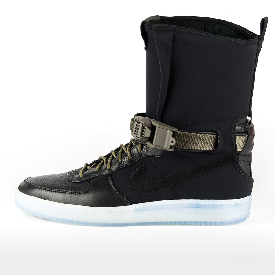 NikeLAB x Acronym Air Force Downtown 1 Hi SP black / medium olive (649941-  Click to zoom ...