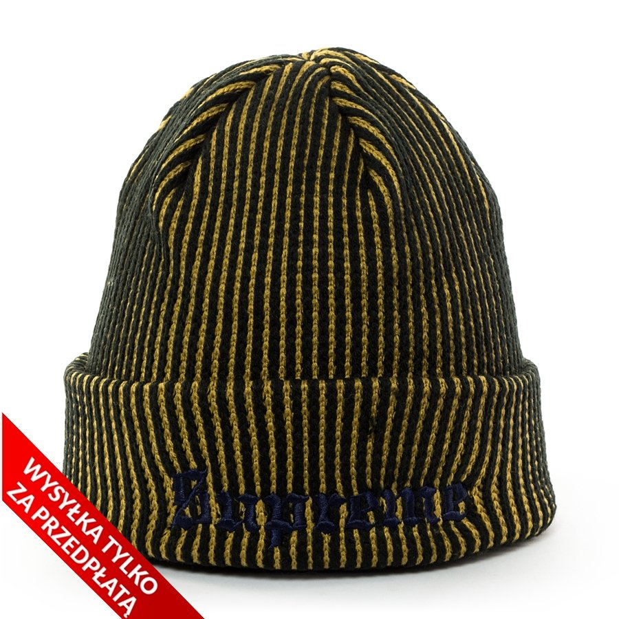 ... Beanie black   yellow Click to zoom ... f08afd4ef34