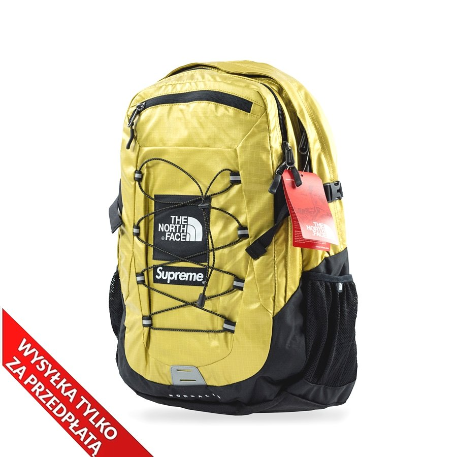 8d6010377 Supreme Backpack The North Face® Metallic Borealis gold