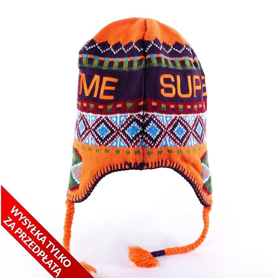 6dd6598fe23 Supreme Nepali Earflap Beanie orange Click to zoom ...