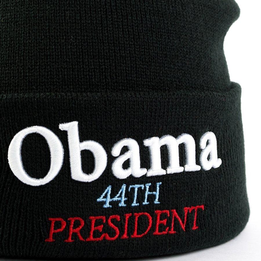 cbe7d5af8371e ... Supreme Obama Beanie black Click to zoom