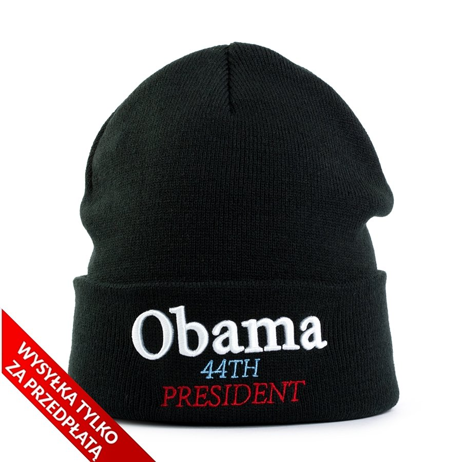 eead62a630 Supreme Obama Beanie black Click to zoom ...