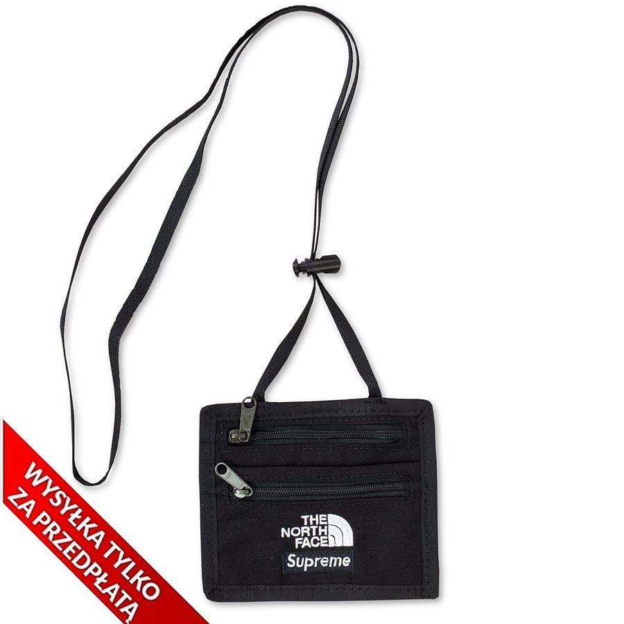 1f237e090 Supreme The North Face Expedition Travel Wallet black