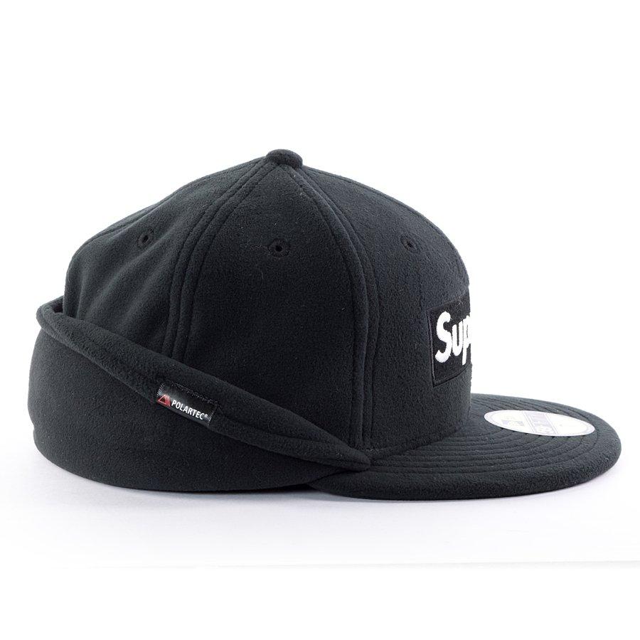Supreme cap Polartec Ear Flap New Era 59FIFTY black  f0c8354a453