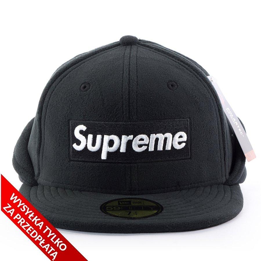 61ad8185c272b Supreme cap Polartec Ear Flap New Era 59FIFTY black Click to zoom ...