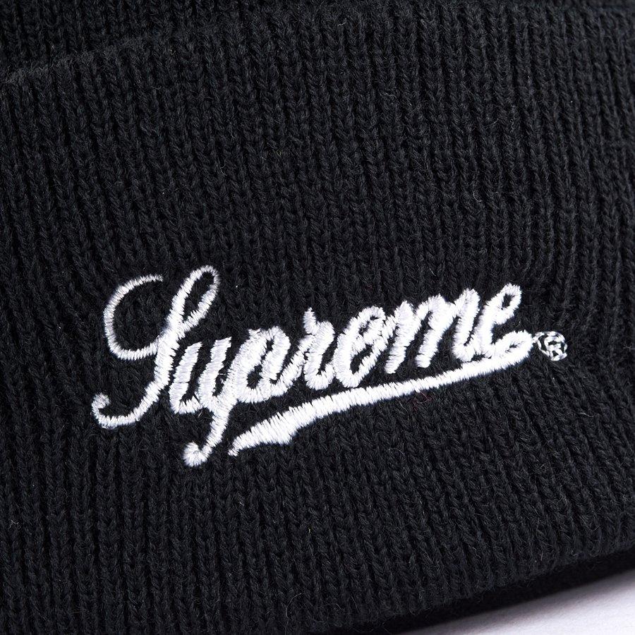 551bd6b1779 ... Supreme cap Scarface Beanie black Click to zoom
