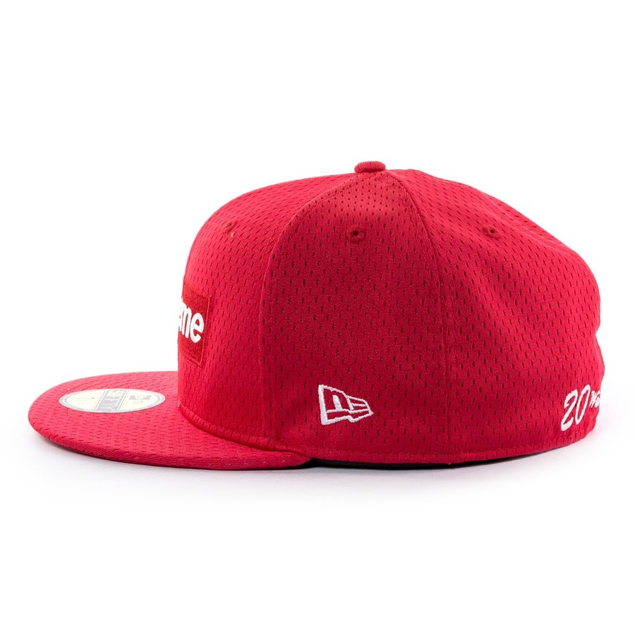 ... Supreme cap fitted Mesh Box Logo New Era 59FIFTY red Click to zoom ... 0f863622436
