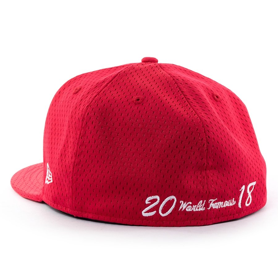 35078668 Supreme cap fitted Mesh Box Logo New Era 59FIFTY red | Caps \ Fitted ...