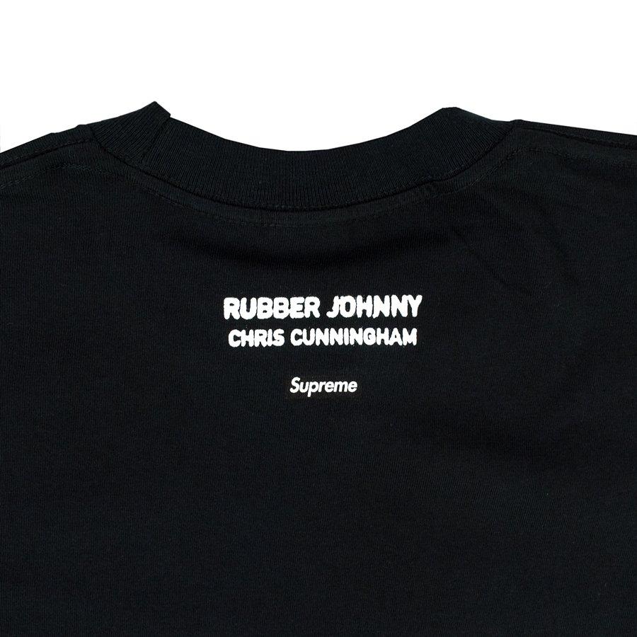 Supreme t shirt Chris Cunningham Rubber Johnny Tee black