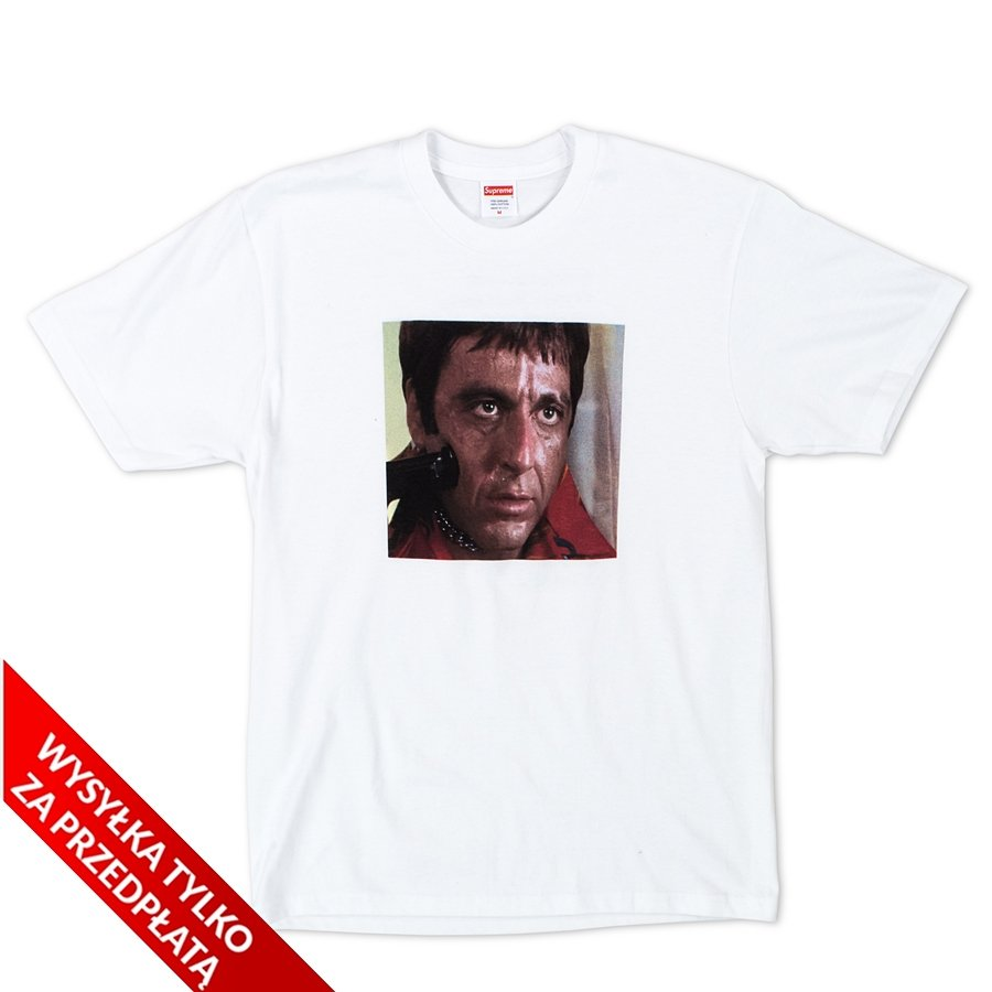 cd6e92df Supreme t-shirt Scarface Shower Tee white   T-Shirts \ T-Shirts *Men ...