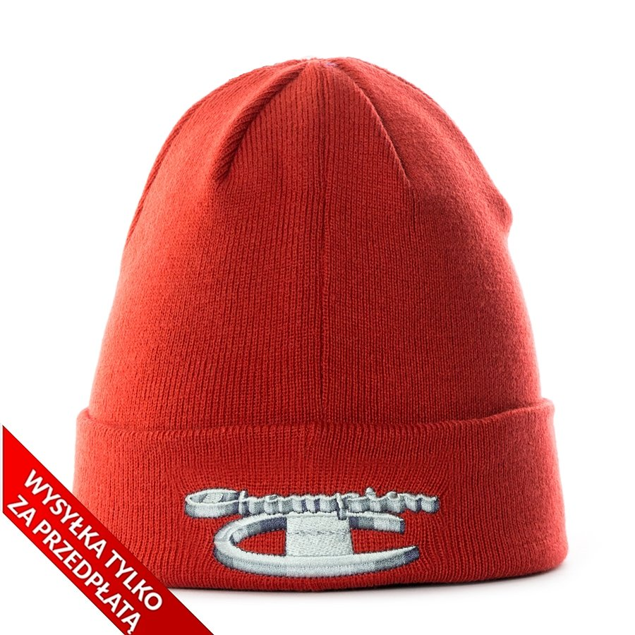 62f27a51cb36f Supreme x Champion 3D Metallic Beanie red Click to zoom ...