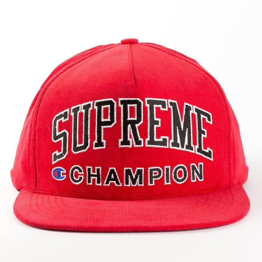 Supreme x Champion snapback red Click to zoom ... 8c7359274c0