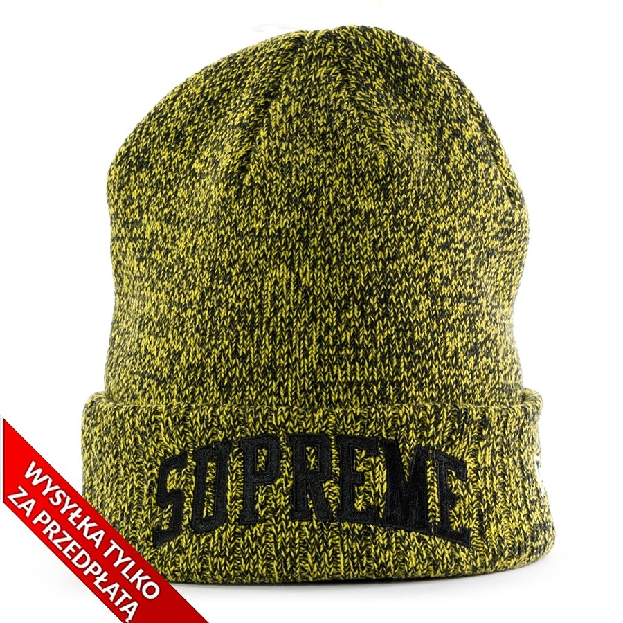 ce452408cf Supreme x New Era Arc Logo Beanie yellow Click to zoom ...