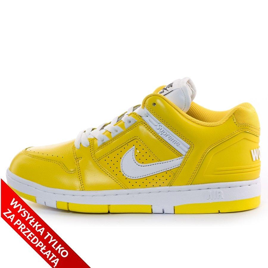 wysoka jakość Nowa kolekcja najniższa cena Supreme x Nike SB AF2 Air Force 2 maize yellow (AA0871-717)